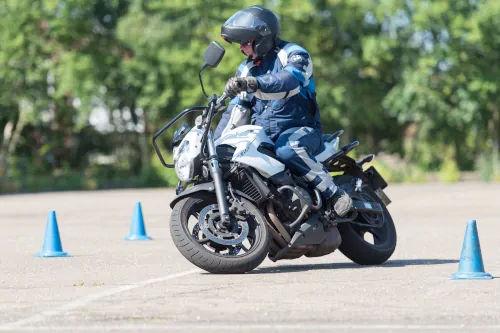 Motorrijbewijspoint Goes motor rijtest